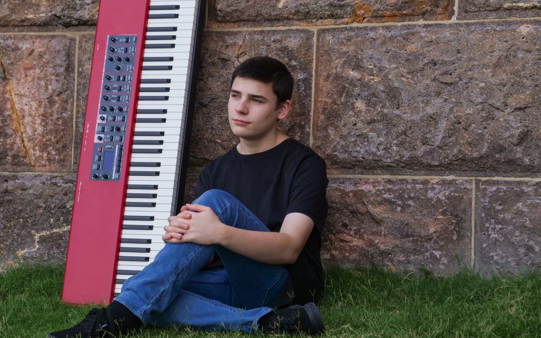 Episode 37: Introducing 16 year old singer/songwriter and piano virtuoso Chandler Jay