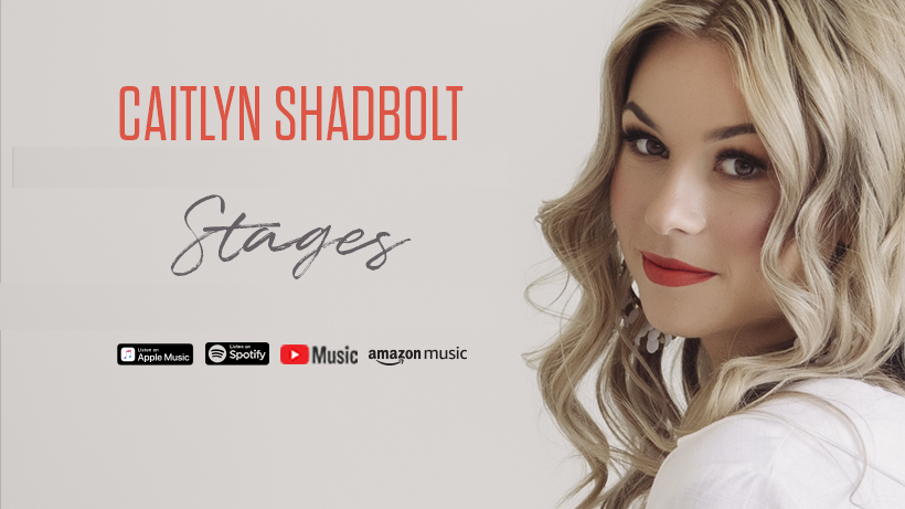 Episode 36: Introducing Caitlyn Shadbolt. From X-factor to the latest album release 'Stages'